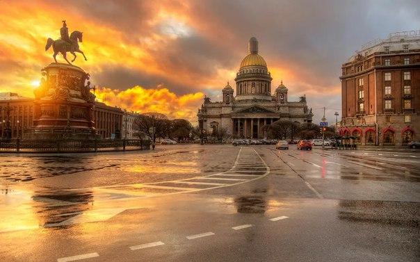 Лучший город для романтики - Санкт-Петербург